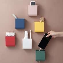 1pc Random Color Wall Mounted Storage Box