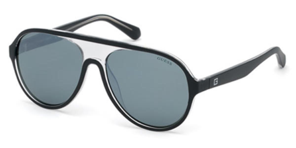 Guess GU 6942 02C Men's Sunglasses Black Size 57