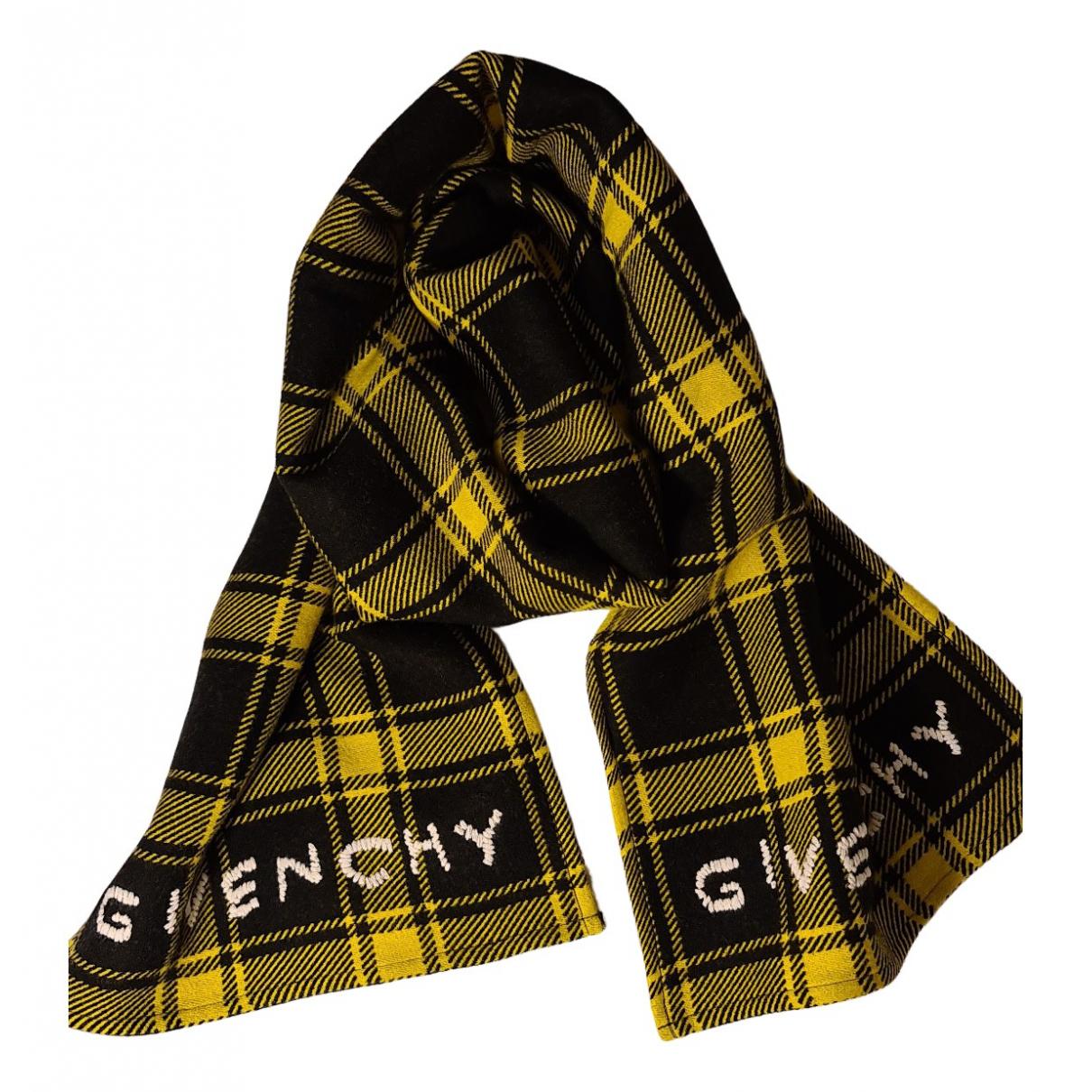 Givenchy N Black Wool scarf & pocket squares for Men N