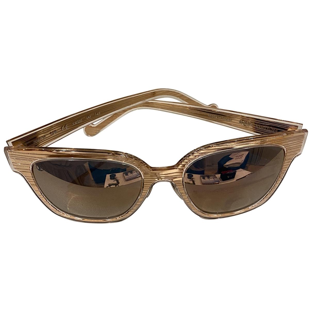 Louis Vuitton \N Gold Sunglasses for Women \N