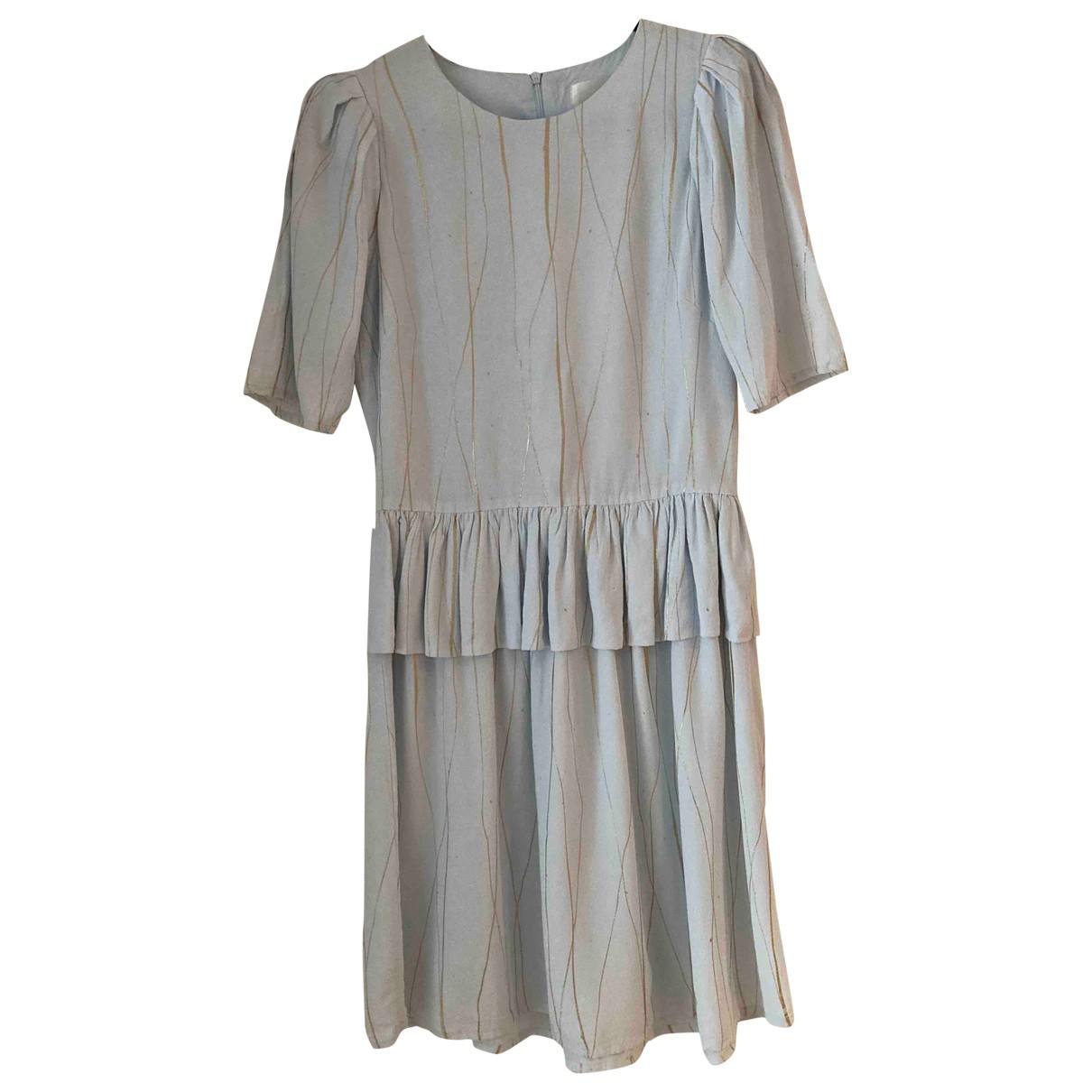 Stine Goya \N Kleid in  Blau Viskose