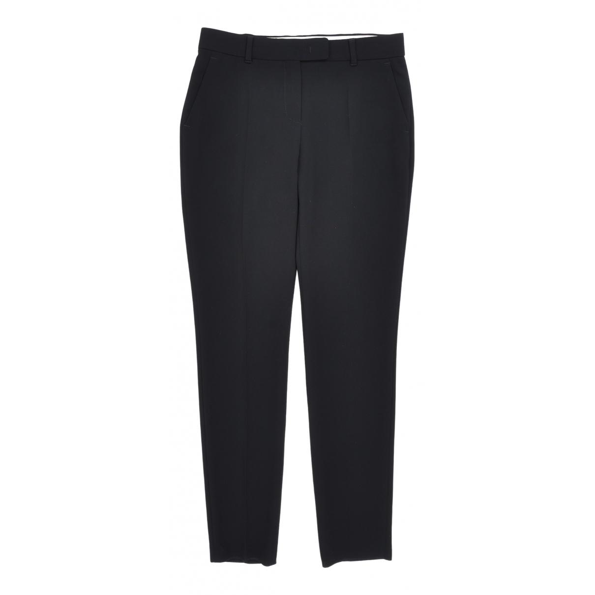 Max Mara N Black Trousers for Women 38 IT