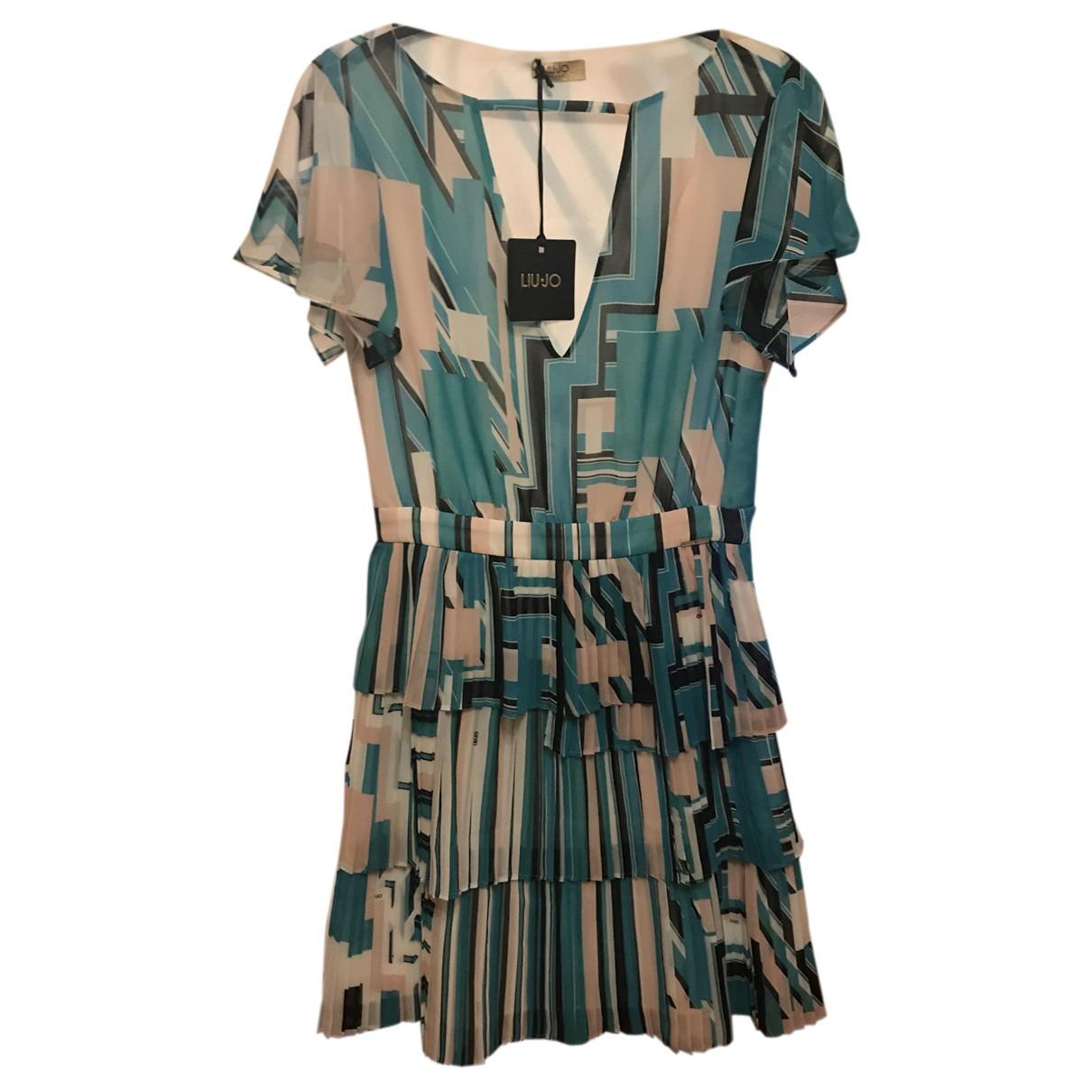 Liu.jo \N Kleid in  Bunt Polyester