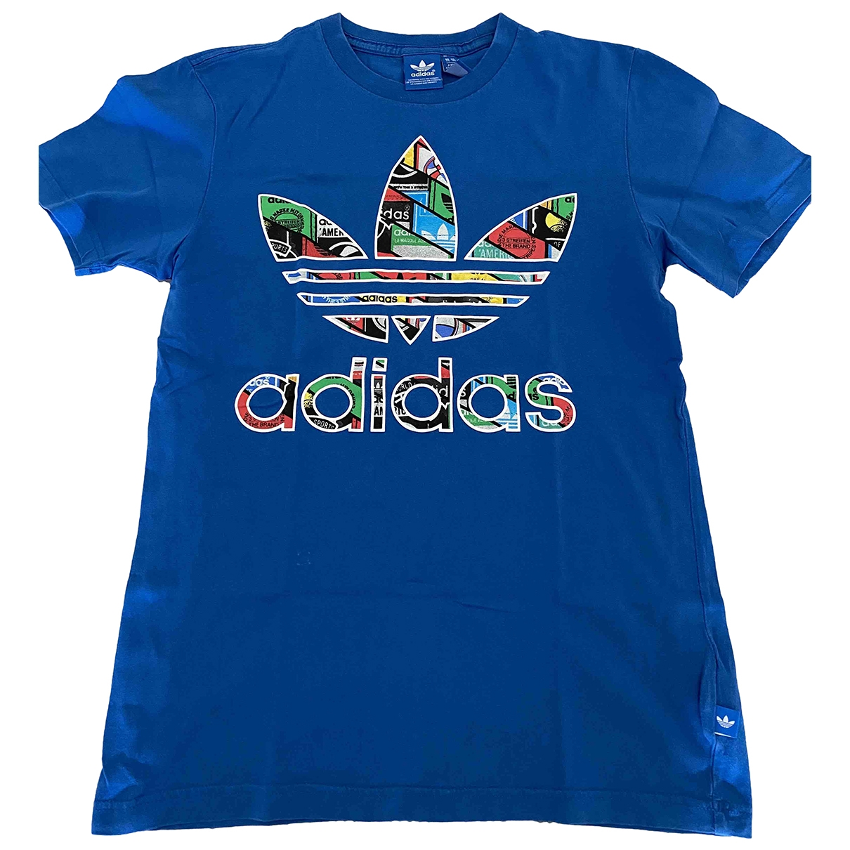 Adidas \N Blue Cotton  top for Kids 12 years - XS FR