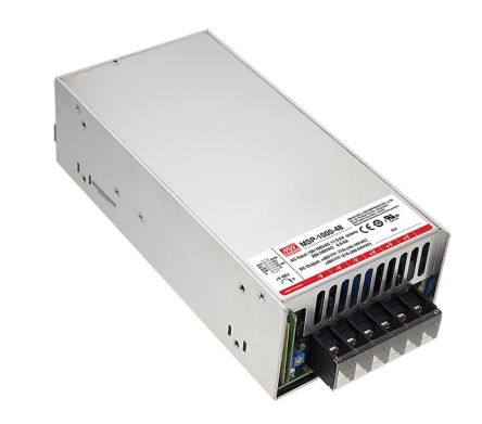 Mean Well , 1.008kW Embedded Switch Mode Power Supply SMPS, 24V dc, Enclosed, Medical Approved
