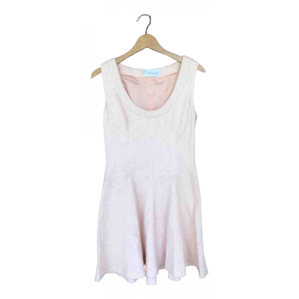 Intrend \N Kleid in  Rosa Tweed