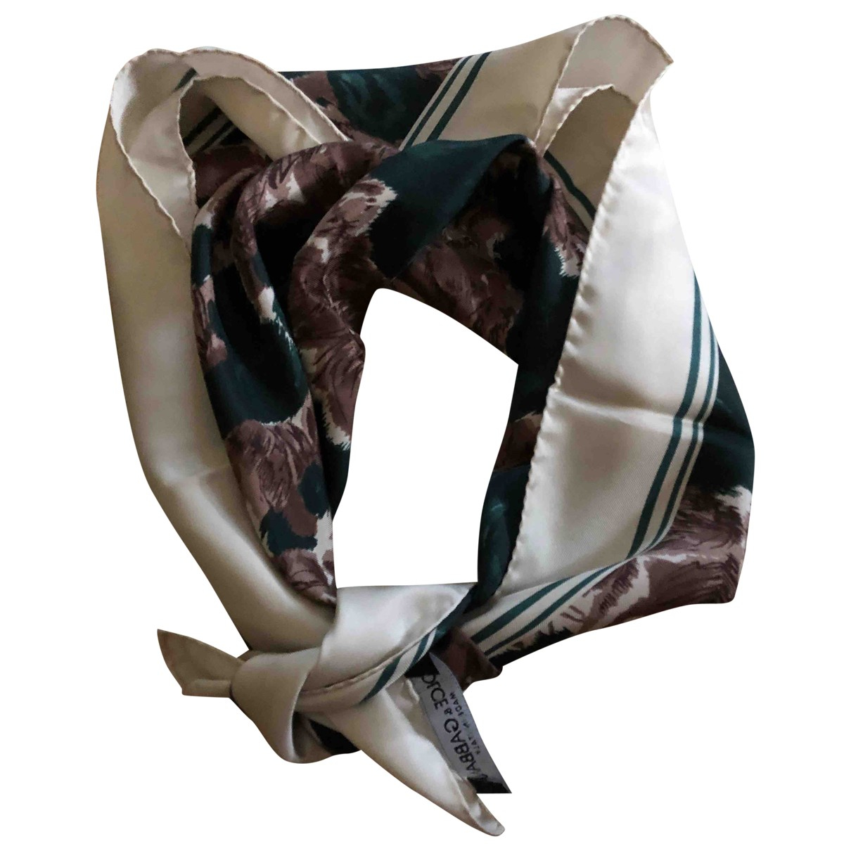 Dolce & Gabbana \N Brown Silk scarf for Women \N