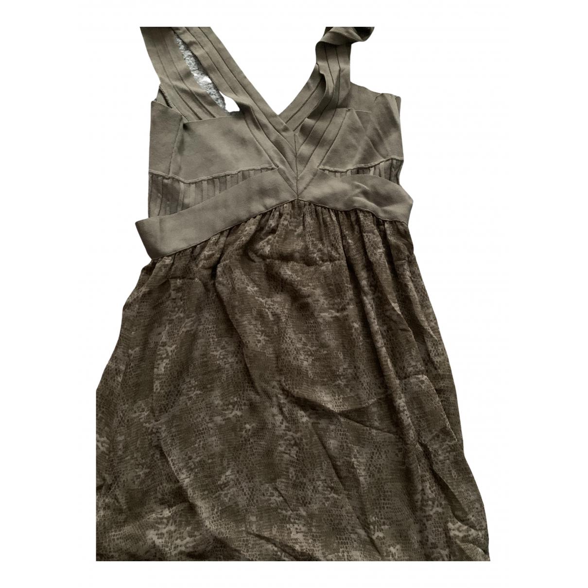 Guess \N Kleid in  Gruen Viskose