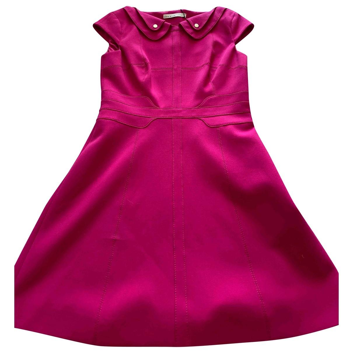 Karen Millen \N Pink dress for Women 12 UK