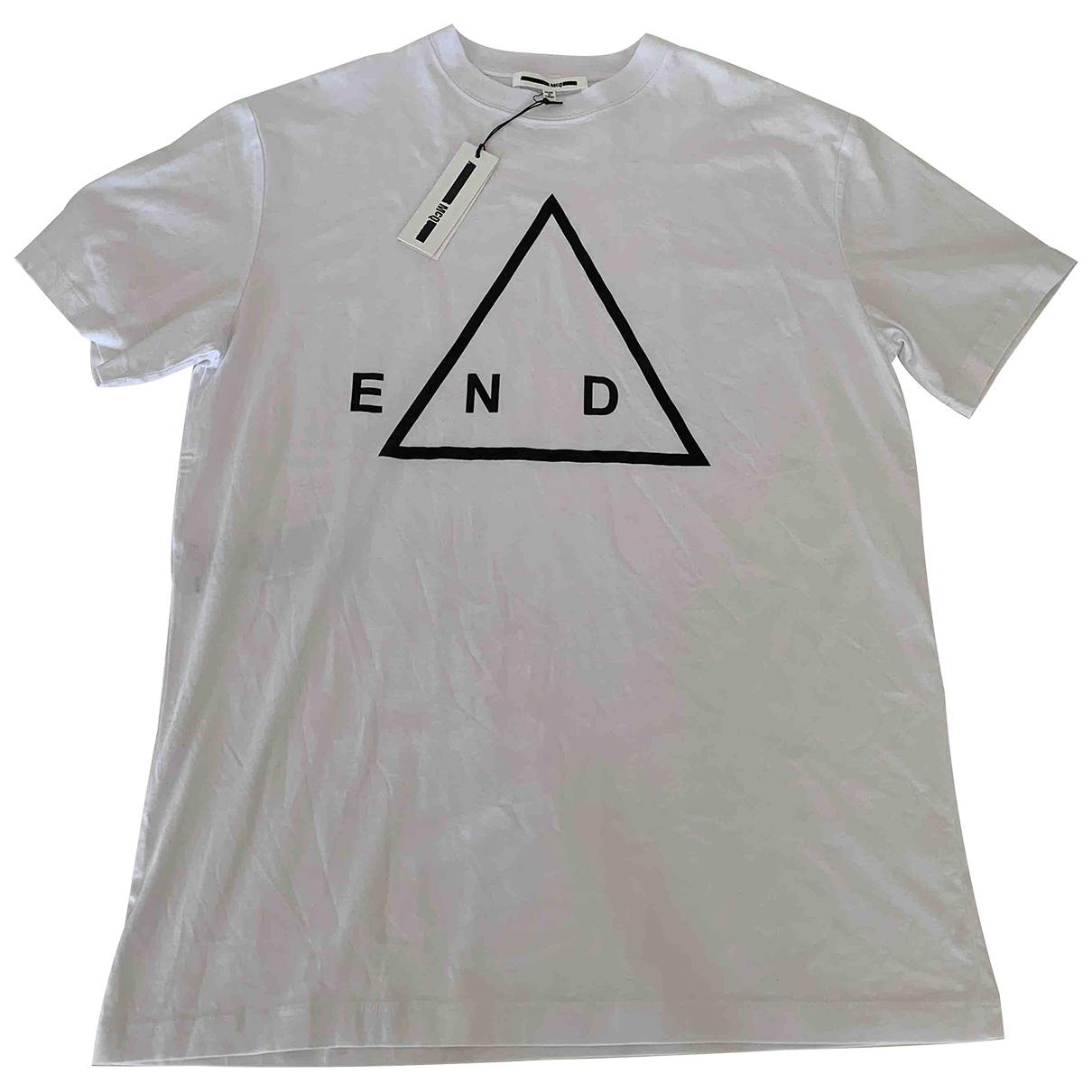 Mcq \N T-Shirts in  Weiss Baumwolle
