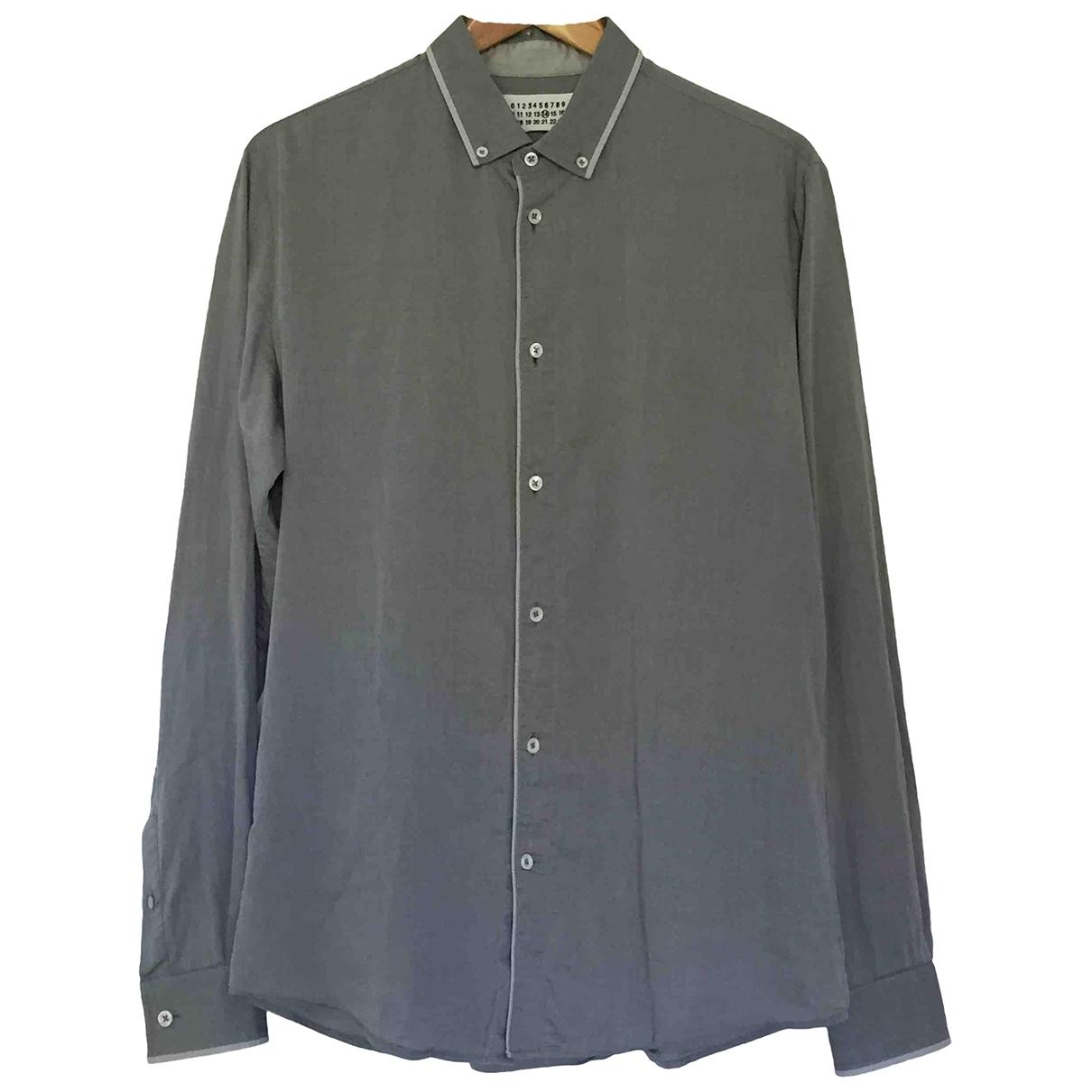 Maison Martin Margiela - Chemises   pour homme en coton - gris