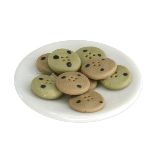 12 Pack: Mini Plate Of Cookies By Artminds™ | Michaels®