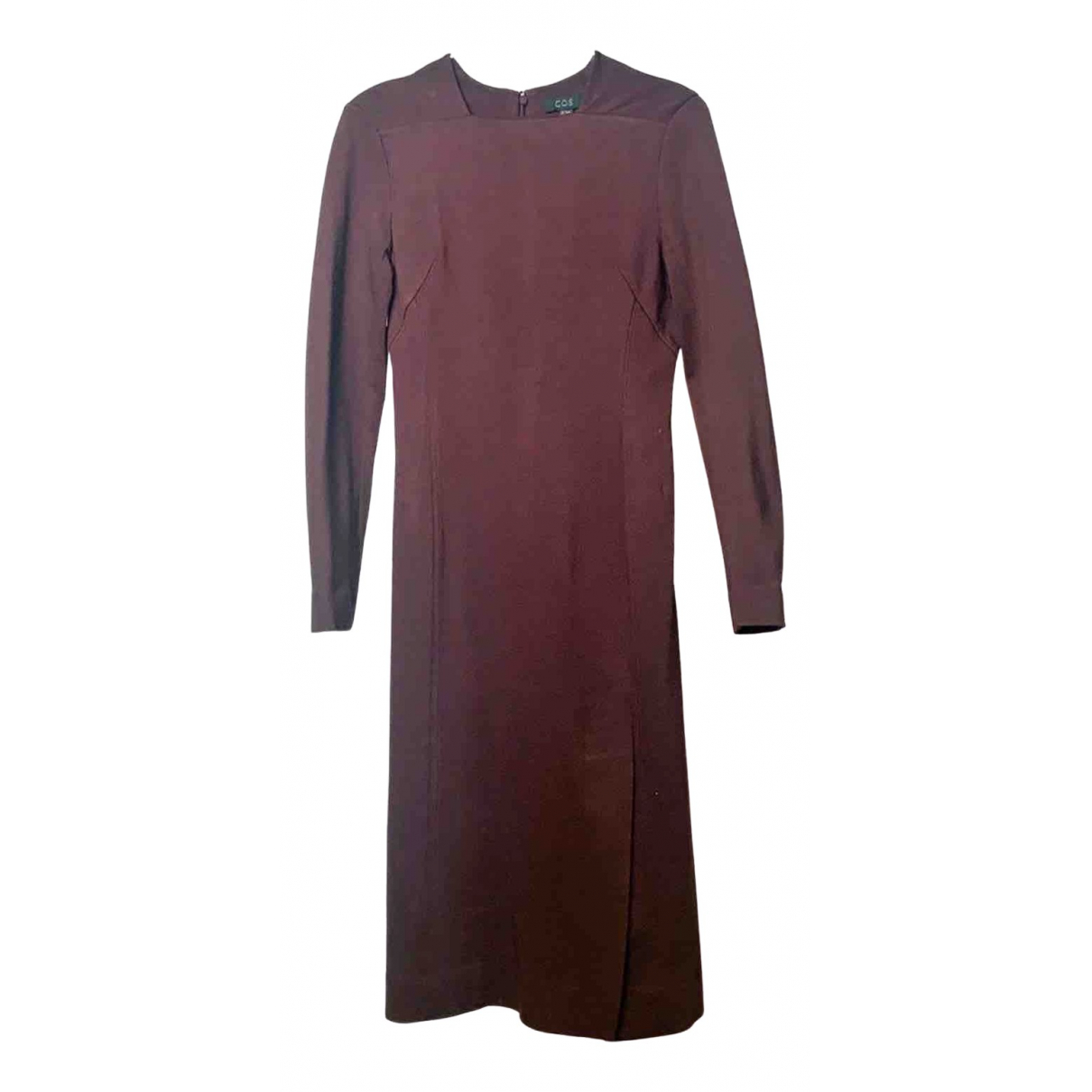 Cos \N Burgundy dress for Women 34 FR