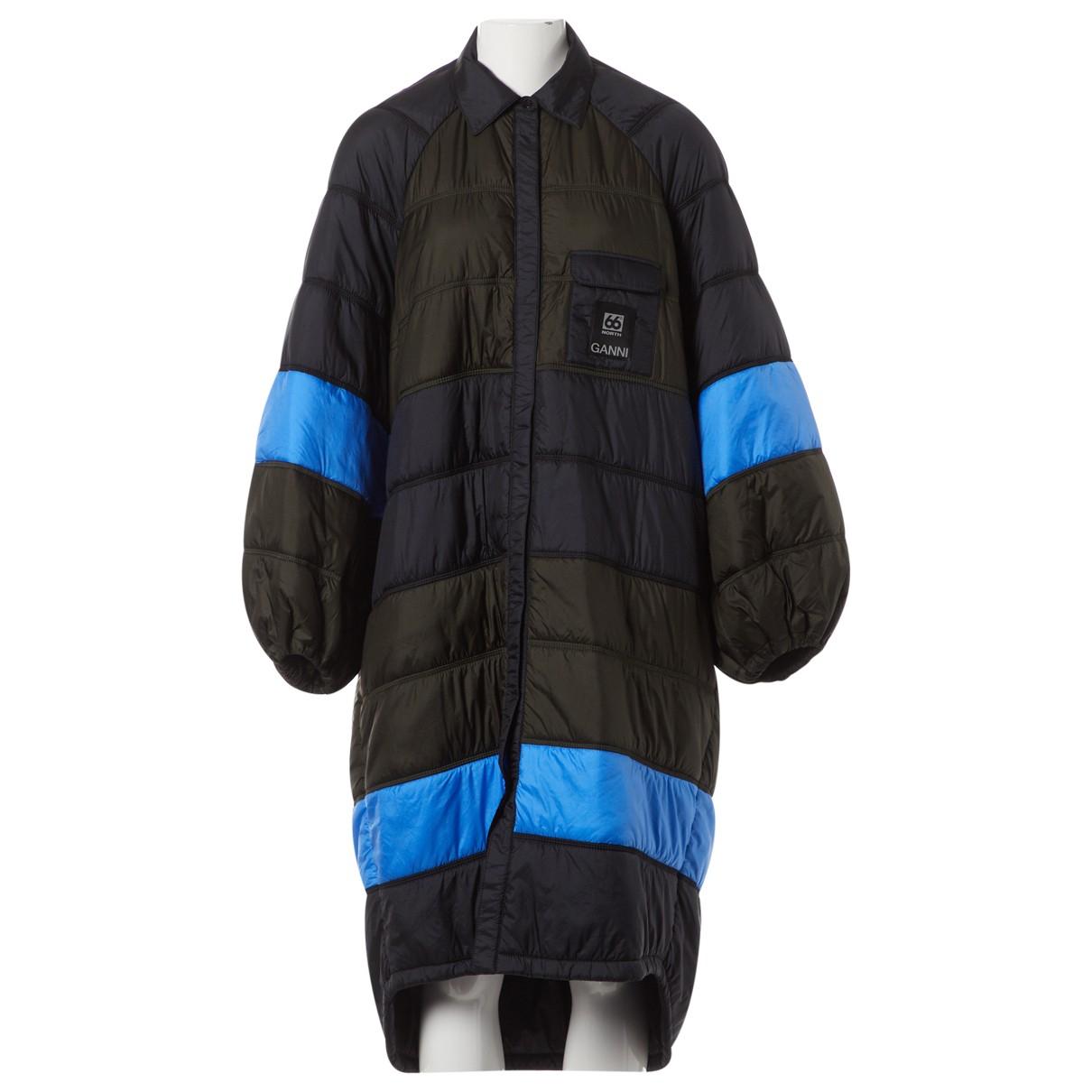 Ganni Fall Winter 2019 Black coat for Women M International