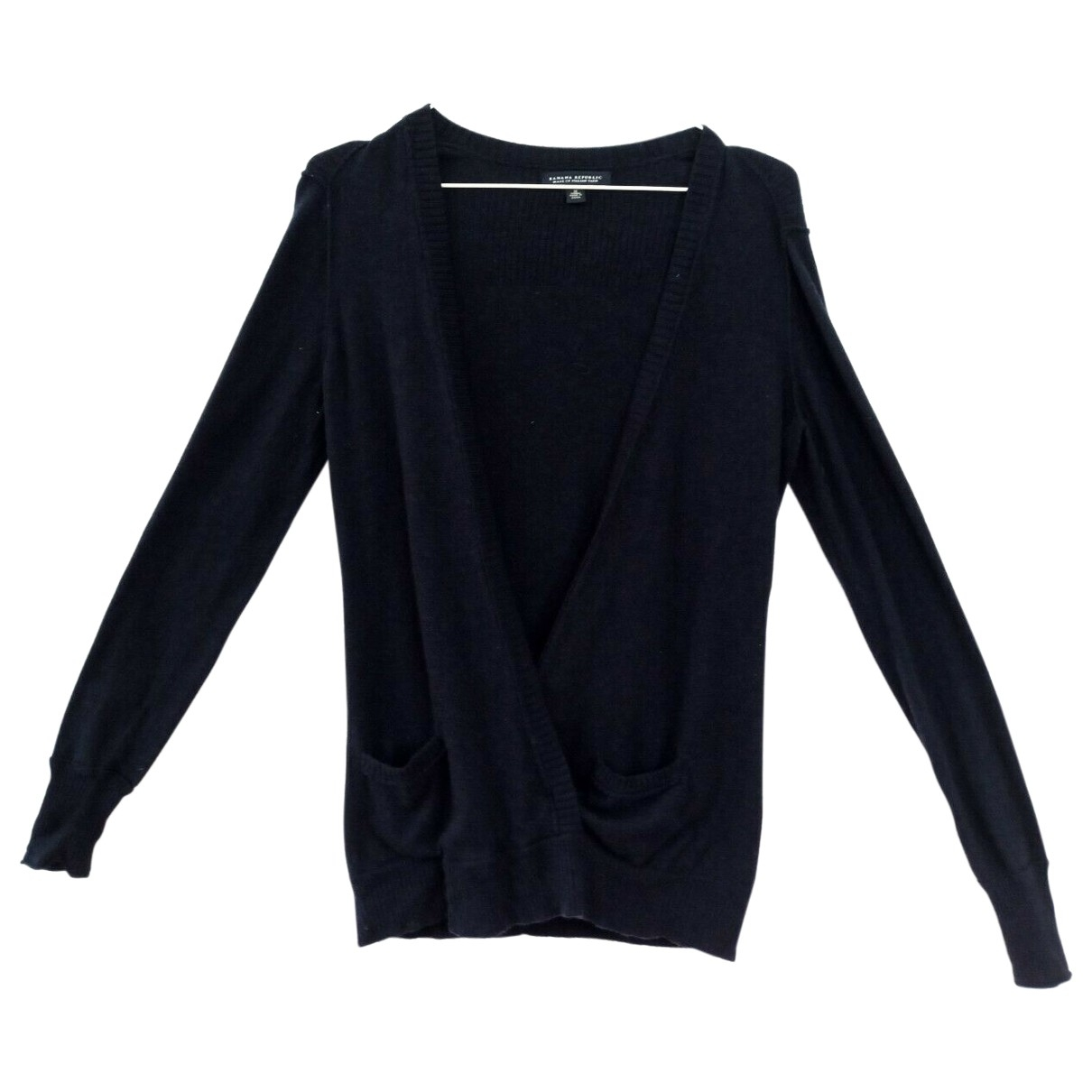 Banana Republic \N Pullover in  Marine Wolle
