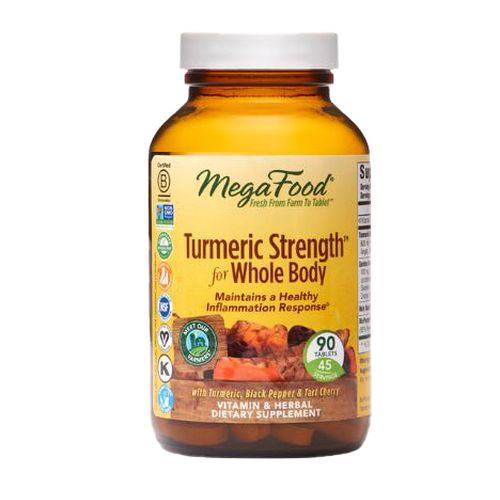 Turmeric Strength for Whole Body 90 Tabs by MegaFood