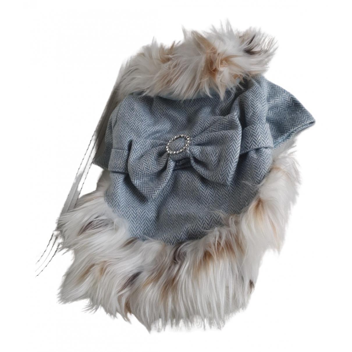 - Vetements   pour lifestyle en laine - bleu