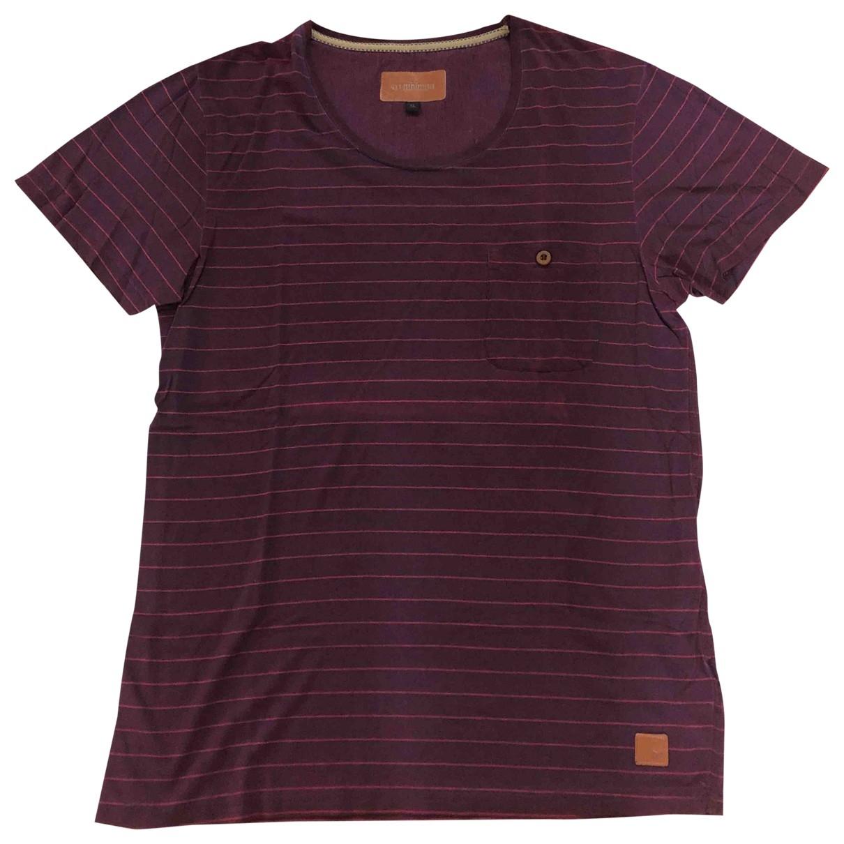 Minimum \N T-Shirts in  Lila Baumwolle