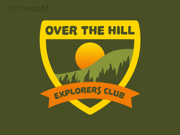 Over The Hill Explorers T Shirt