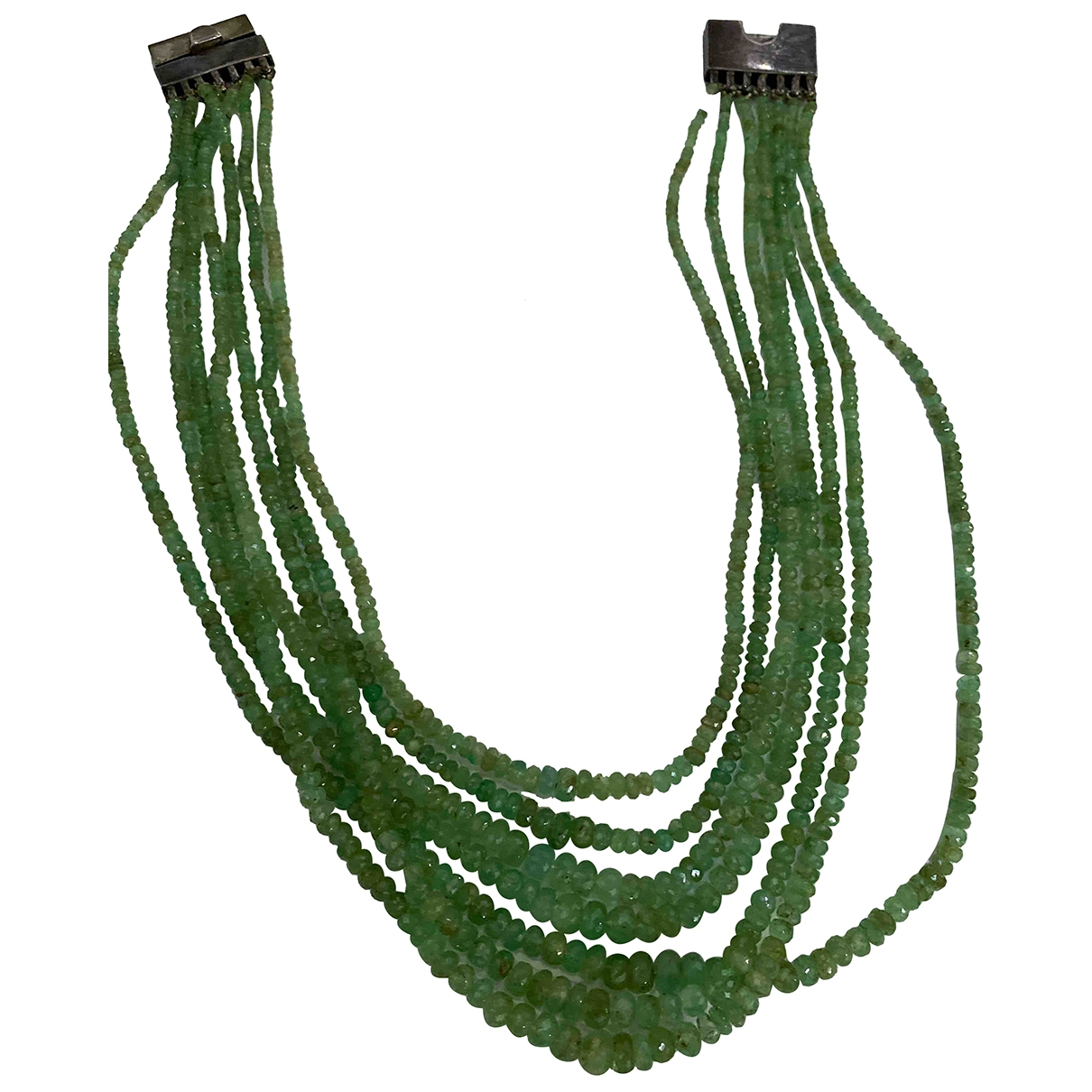 - Collier Motifs Ethniques pour femme en metal - vert