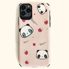 iPhone Etui mit Panda Muster