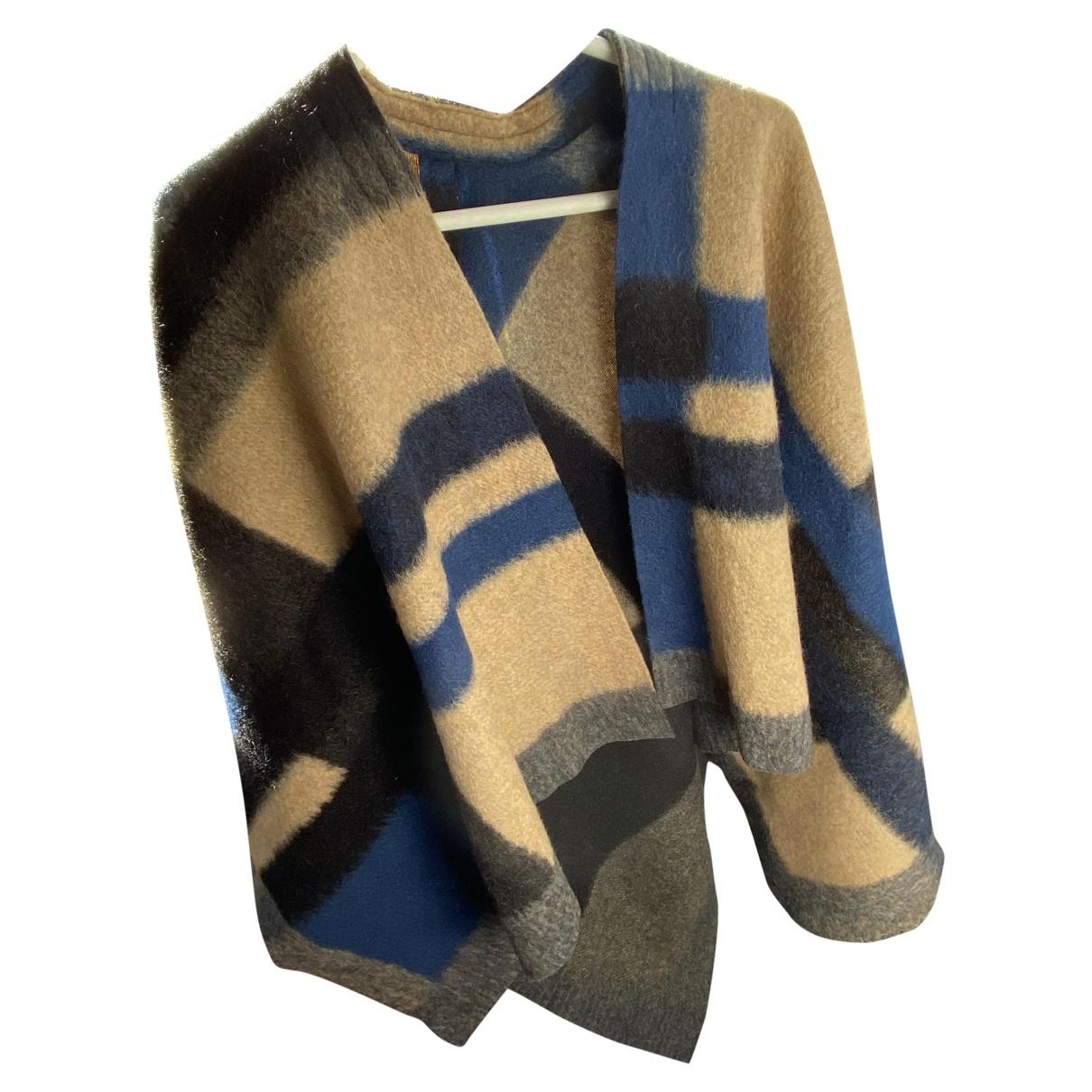 Roy Rogers - Pull   pour femme en laine - bleu