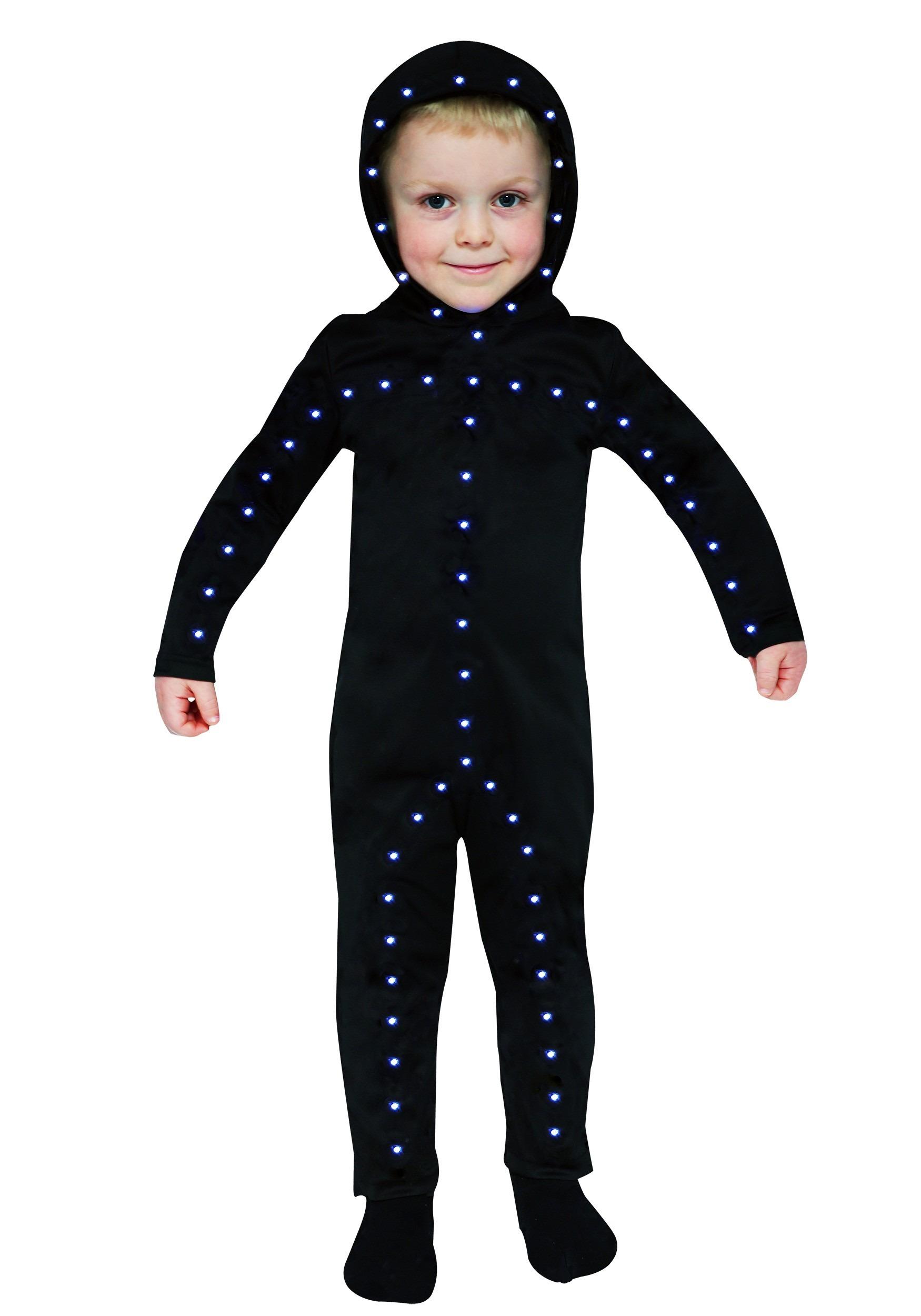 Lighted Toddler Stick Man Costume