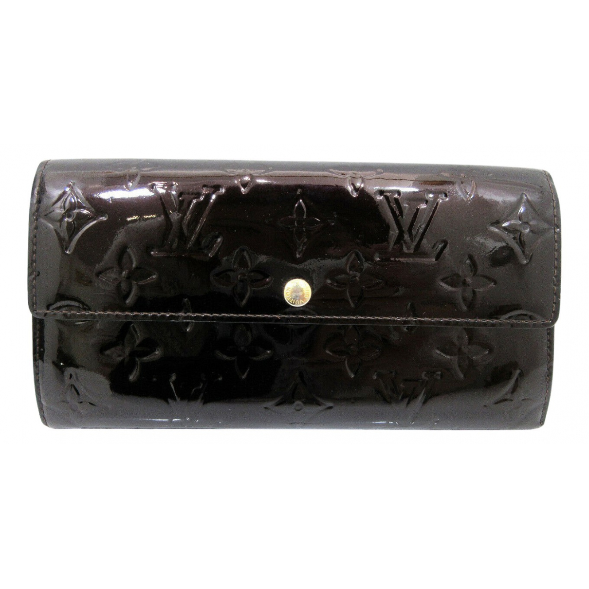 Louis Vuitton Virtuose Burgundy Patent leather wallet for Women N