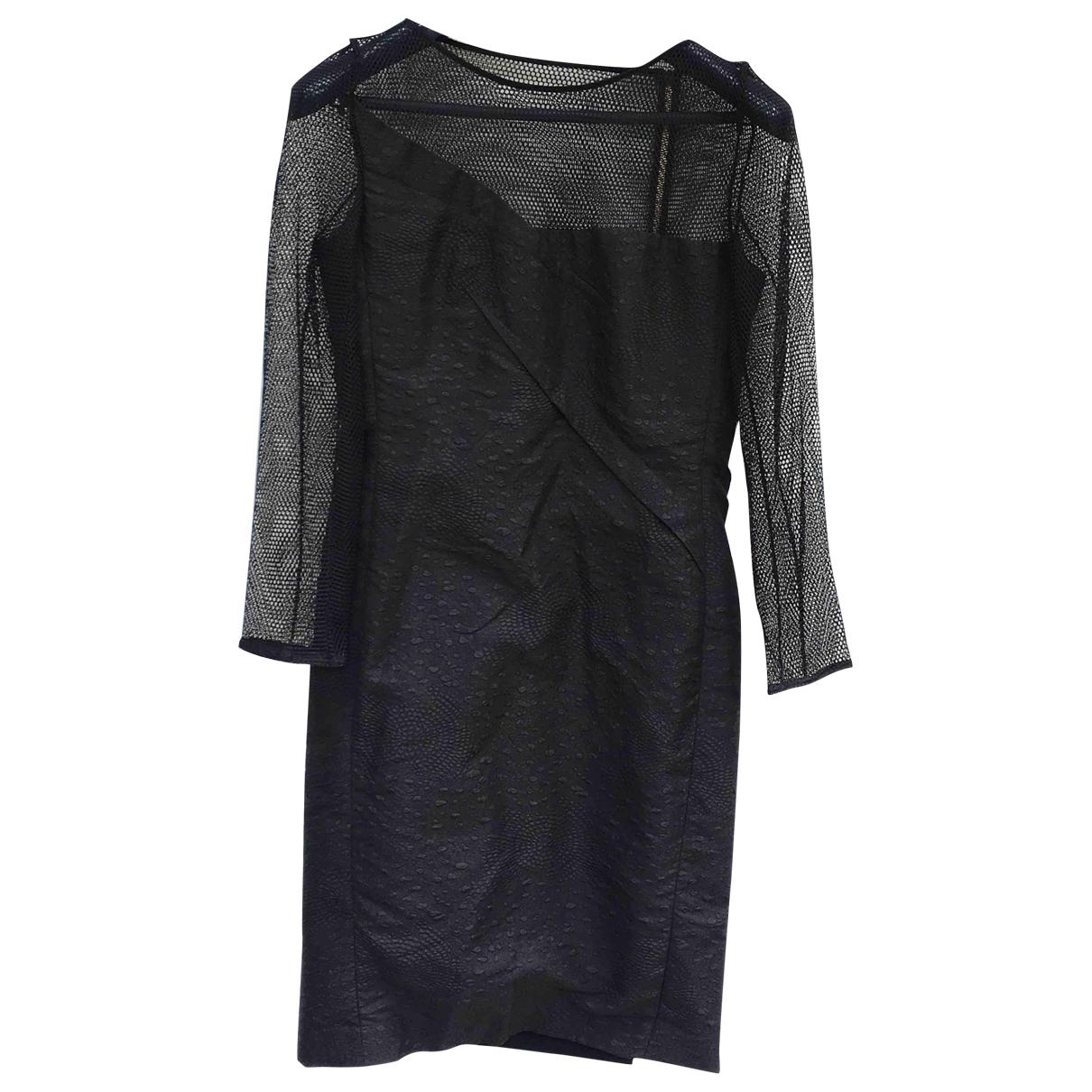 Roland Mouret \N Black Silk dress for Women 40 FR