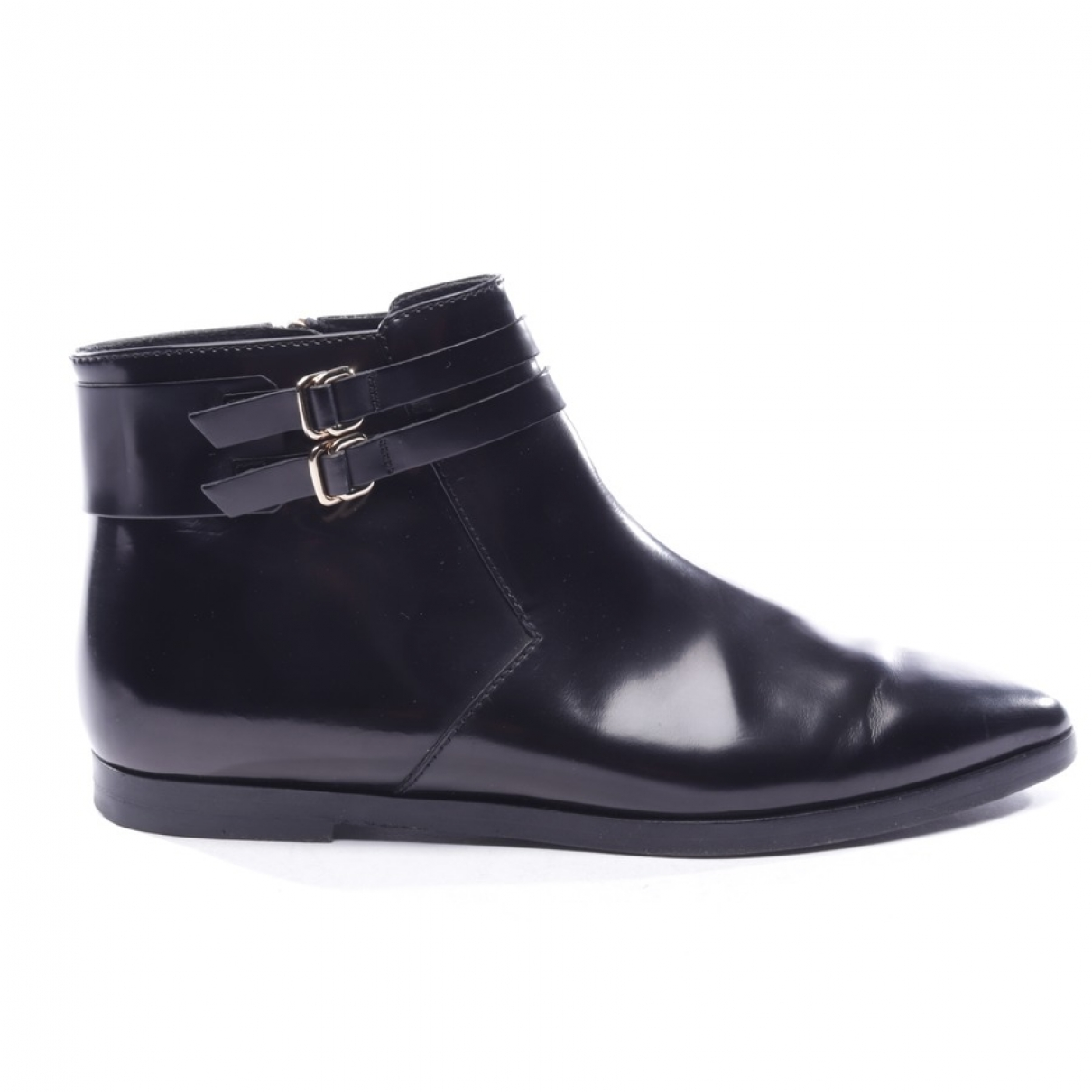 Tod's \N Black Leather Ankle boots for Women 37 EU