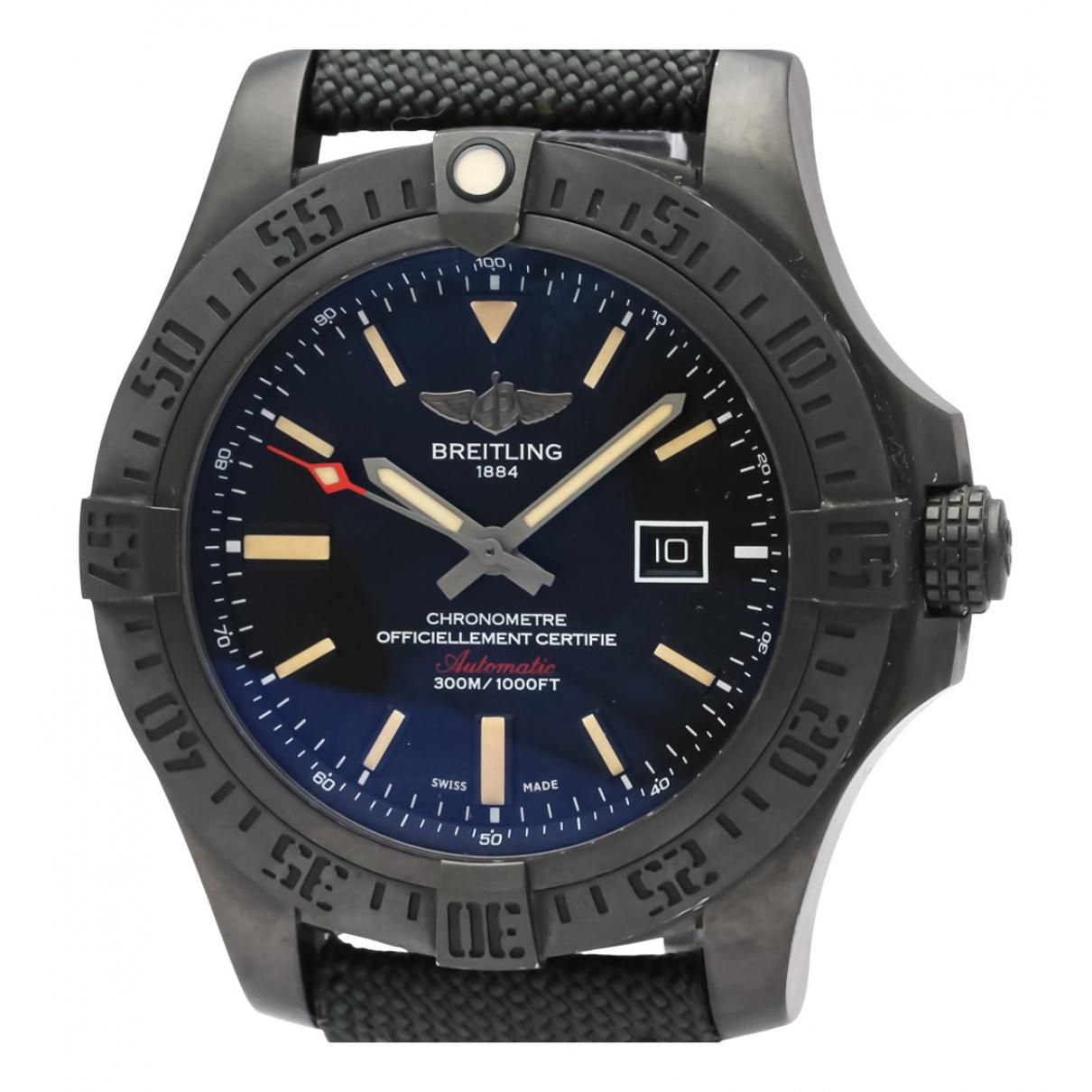 Breitling Avenger Uhr in  Schwarz Titan