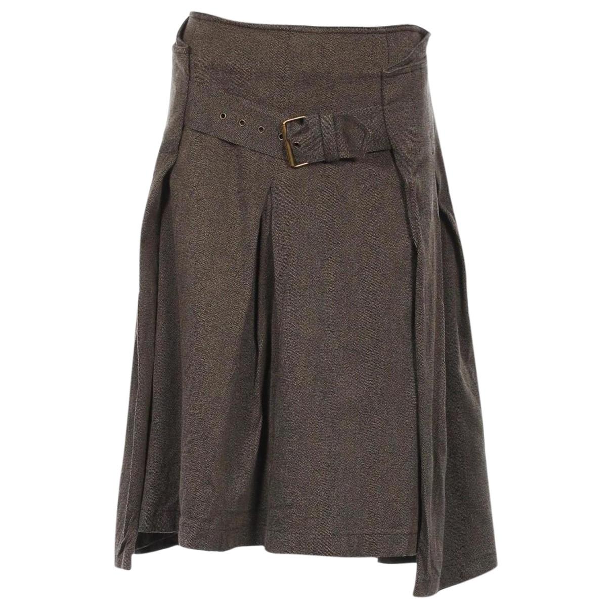 Bitte Kai Rand - Jupe   pour femme en coton - elasthane - marron
