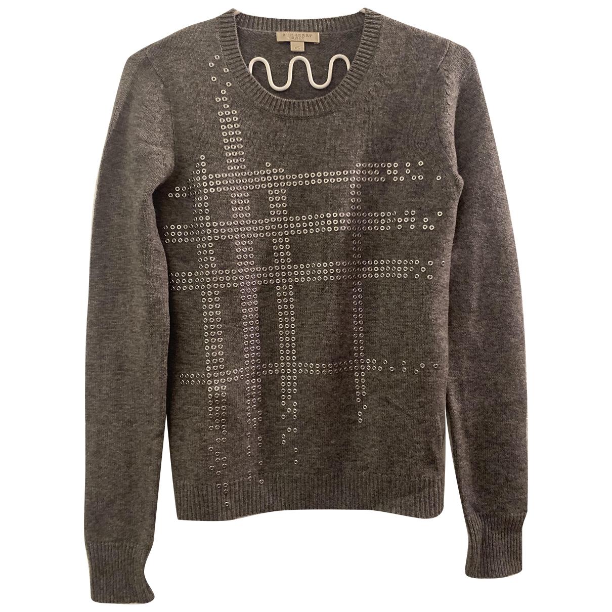 Burberry \N Grey Wool Knitwear for Women XS International