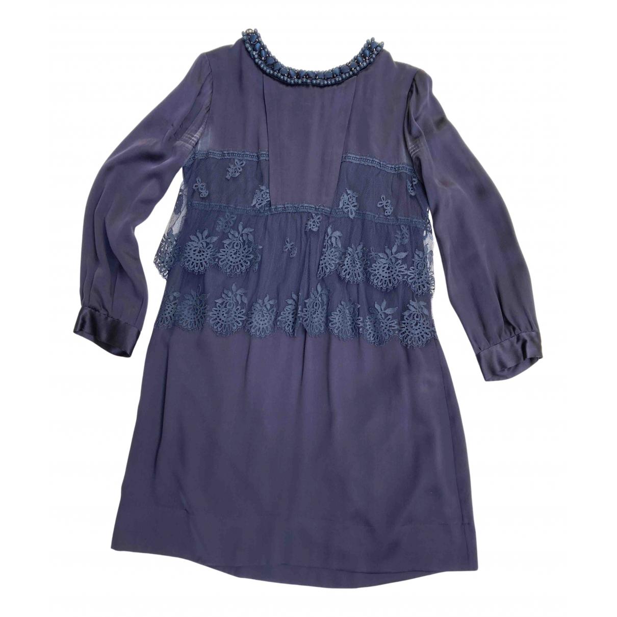 Stella Mccartney \N Kleid in  Lila Seide