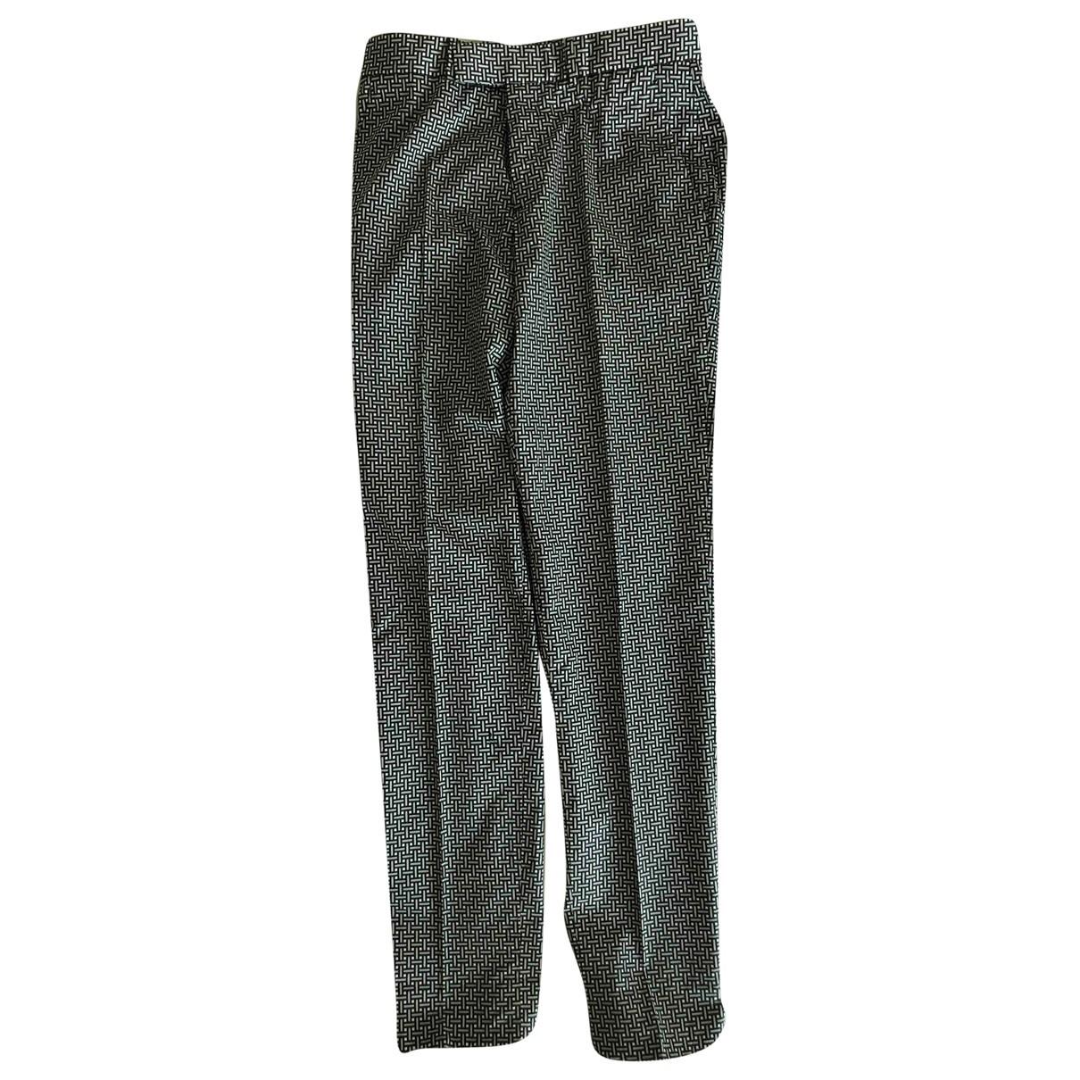Alexander Mcqueen \N Grey Cotton Trousers for Men 46 IT
