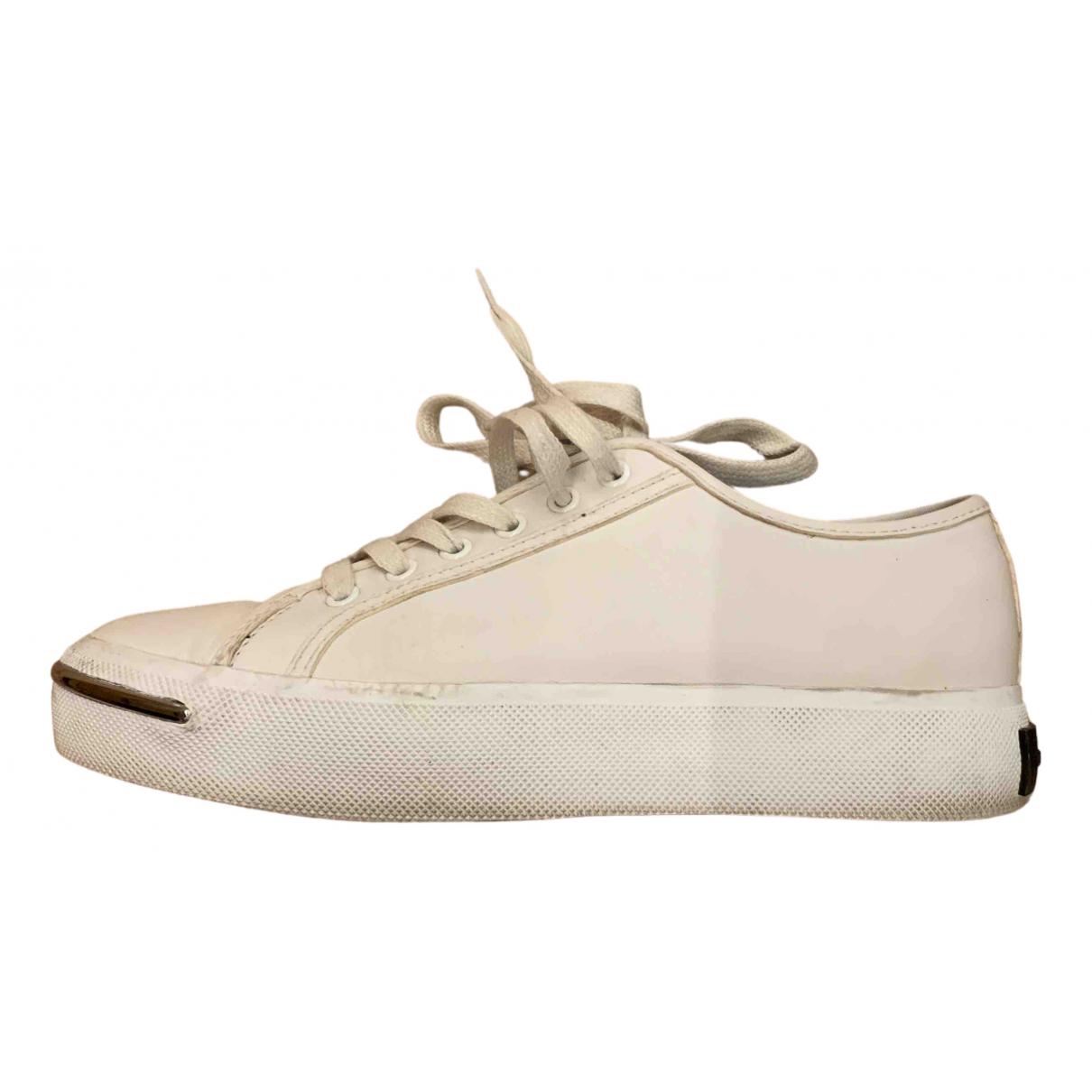 Alexander Wang - Baskets   pour femme en cuir - blanc
