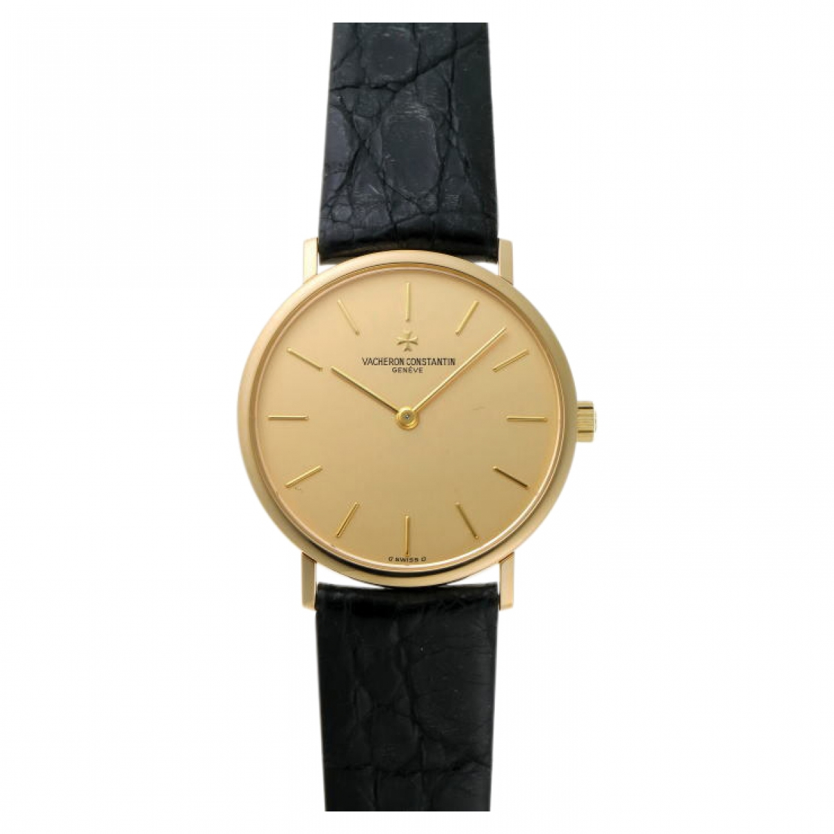 Vacheron Constantin \N Black Yellow gold watch for Women \N