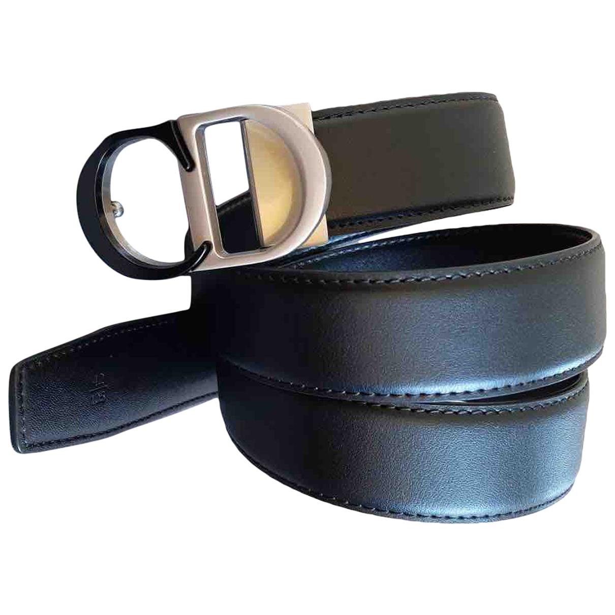 Cinturon de Cuero Dior Homme