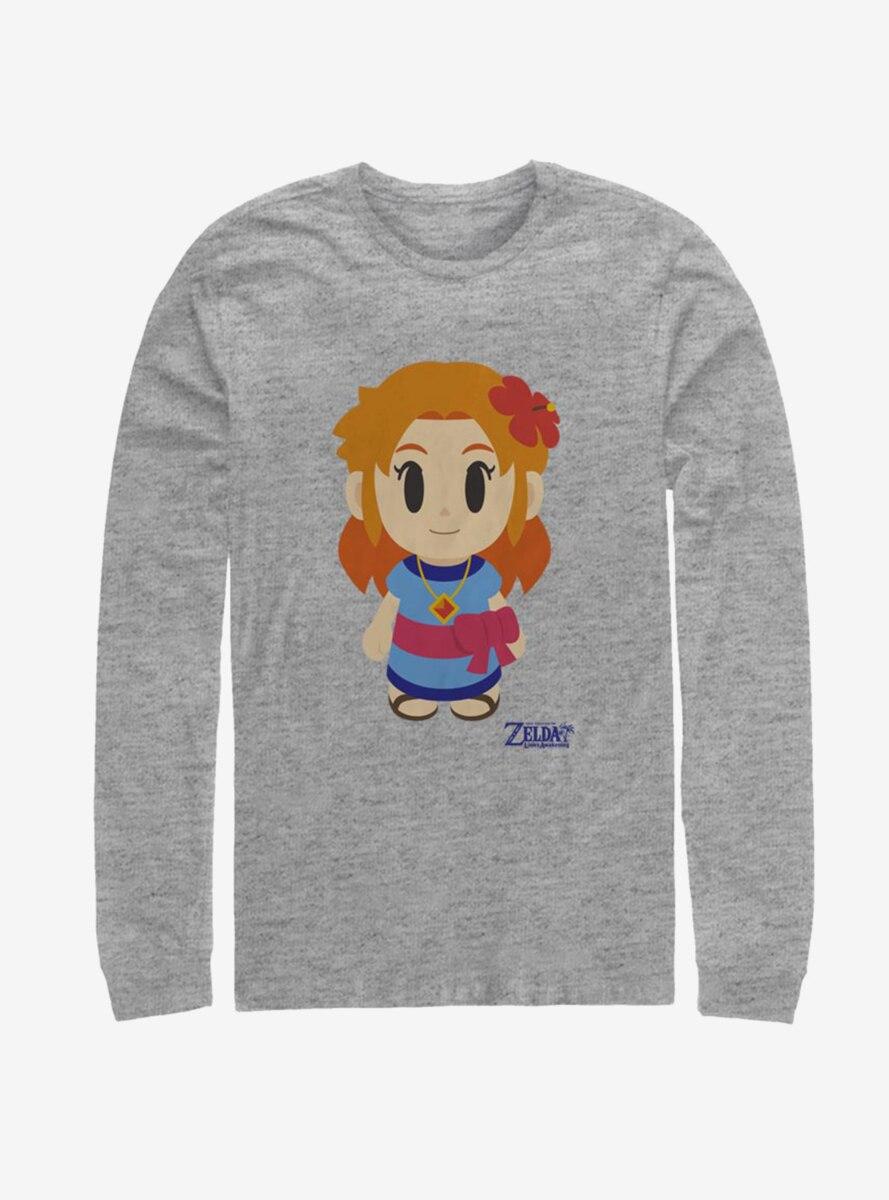 Nintendo The Legend of Zelda: Link's Awakening Marin Avatar Color Long-Sleeve T-Shirt