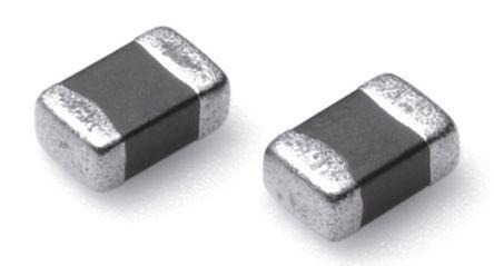 TDK 68 μH ±10% Ferrite Multilayer SMD Inductor, 0805 (2012M) Case, SRF: 16MHz Q: 25 2mA dc 2.9Ω Rdc (10)
