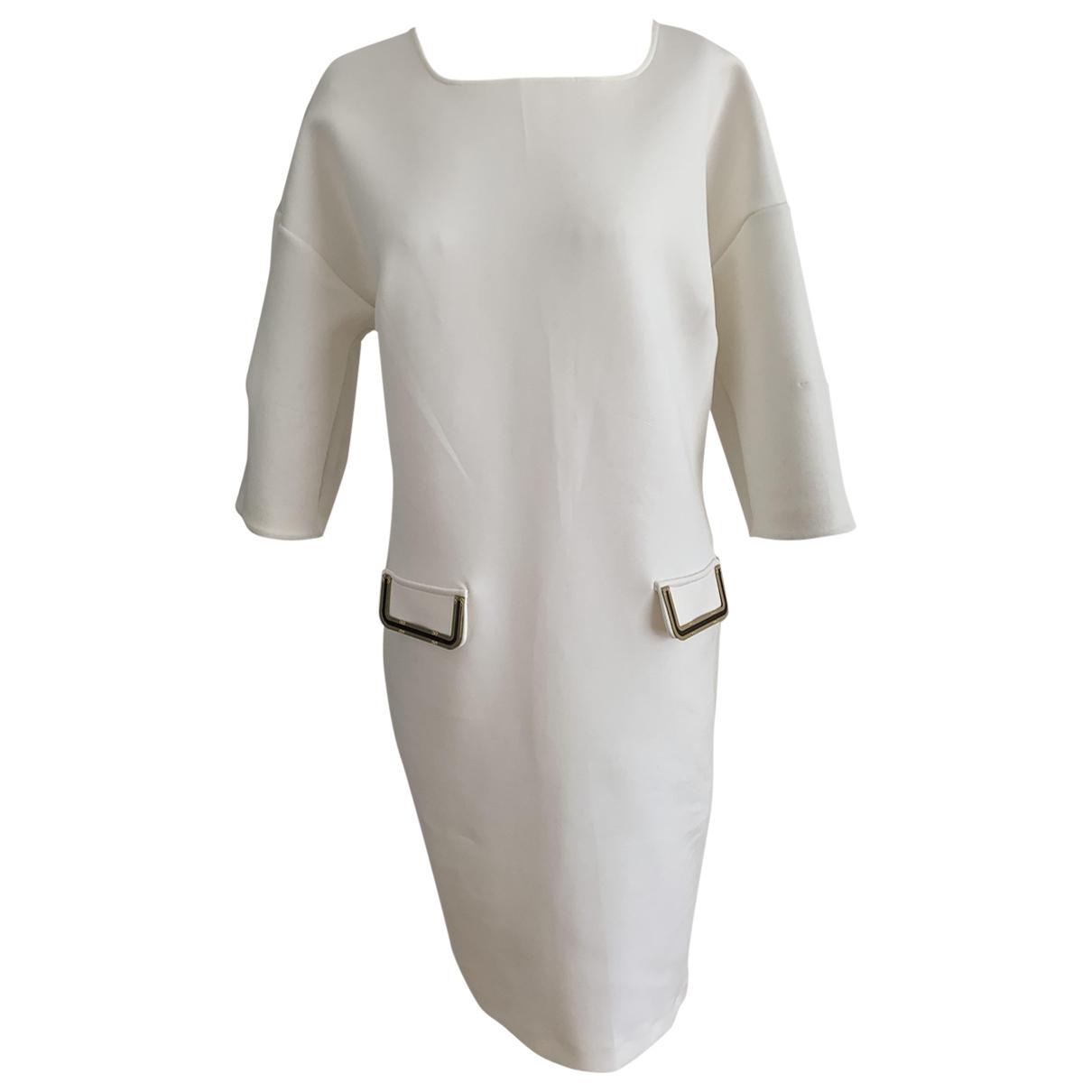 Class Cavalli \N Kleid in  Weiss Polyester