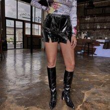Shorts Particion Liso Glamour