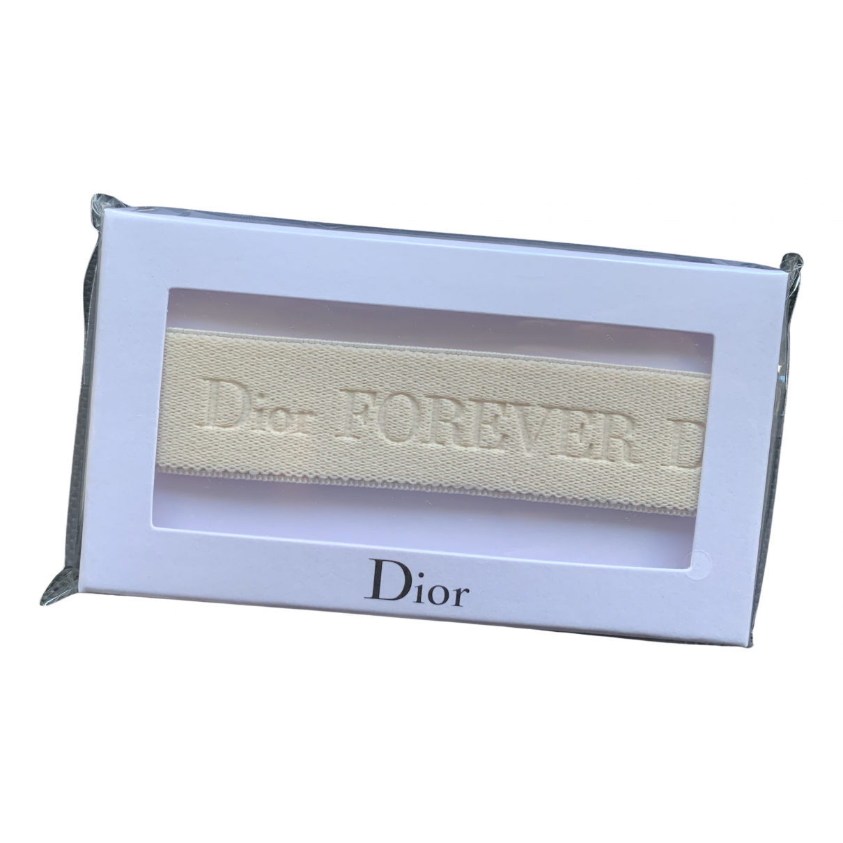 Dior - Bijoux de tete Monogramme pour femme en polyamide - beige