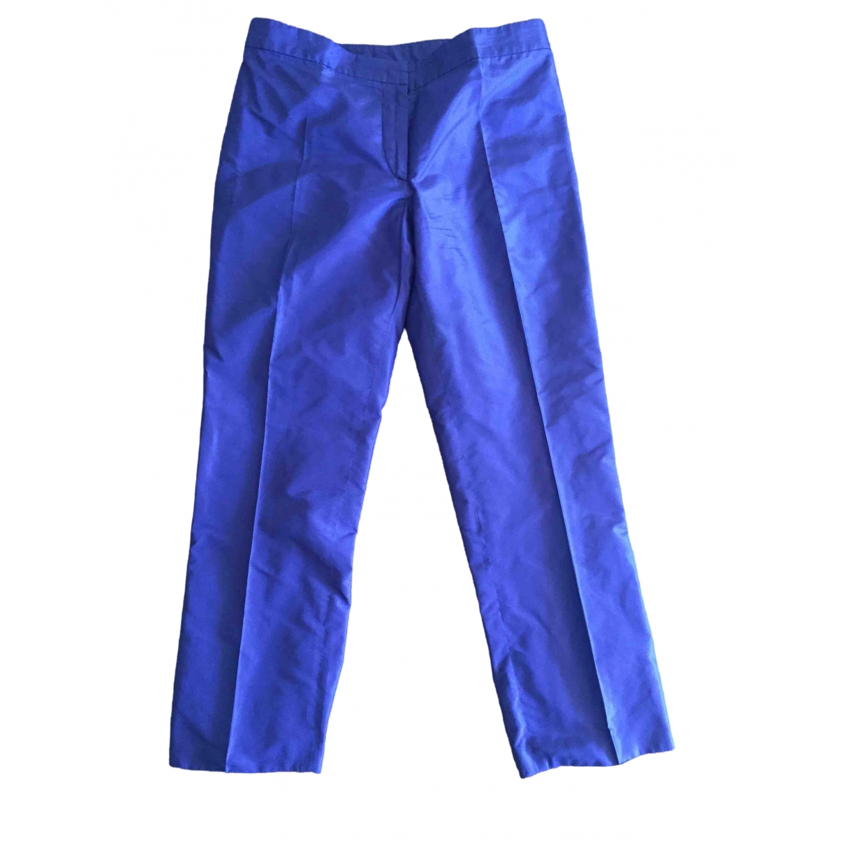 Pantalon recto de Seda Aspesi