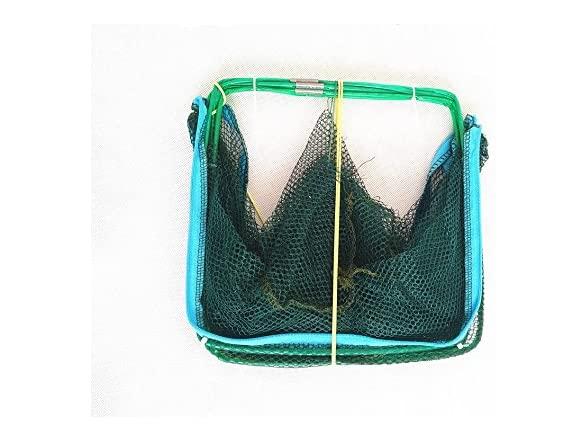 Portable Folded Fishing Net Mesh Trap