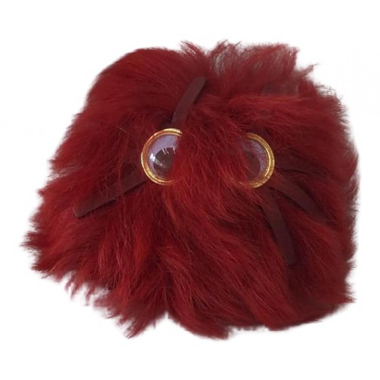 Sophie Hulme - Bijoux de sac   pour femme en mouton - rouge
