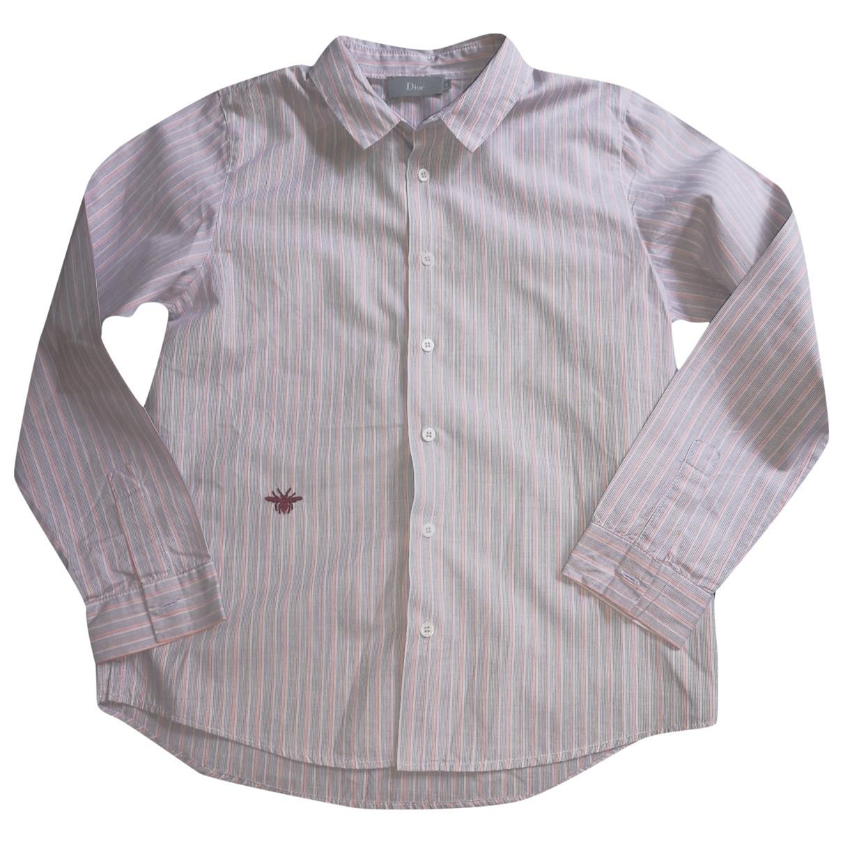 Dior - Top   pour enfant en coton - gris