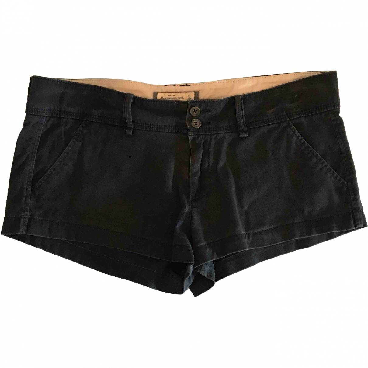 Abercrombie & Fitch \N Blue Cotton Shorts for Women 42 IT