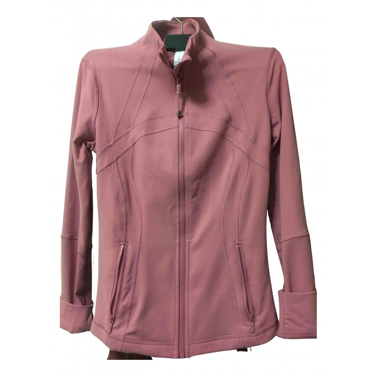 Lululemon - Veste   pour femme en coton - rose