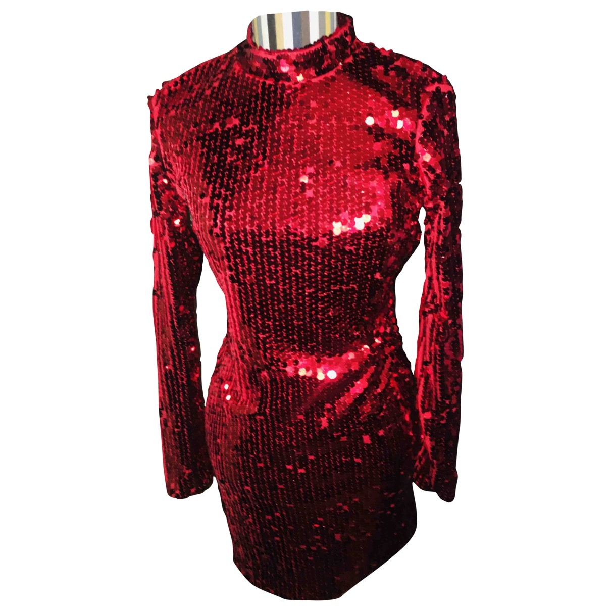 Vicolo \N Red Glitter dress for Women M International